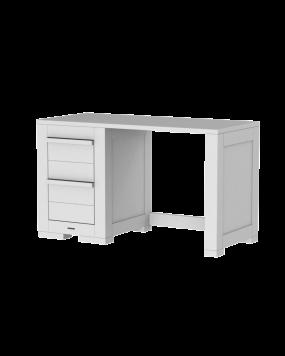 Nature weiß - Schreibtisch