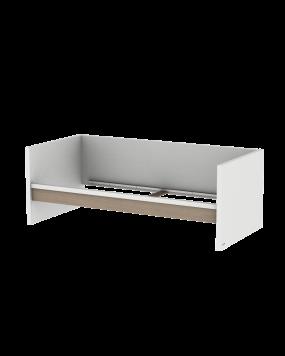 Accent - Sofabett 90x200 (Exkl. Lattenrost)
