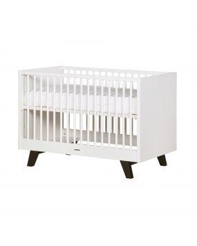 Fynn Weiß / Schwarz - Bett 60x120