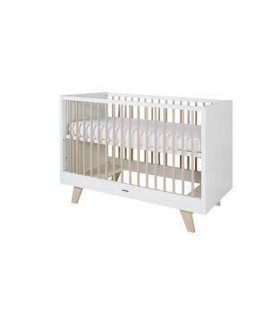 Fynn Weiß / Natur - Bett 60x120