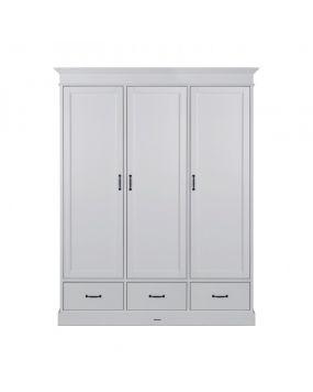 La Première Weiß / Weiß - Schrank (3 Türen)