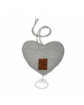 Knitted Grau - Spieluhr