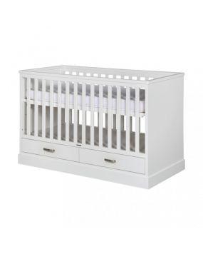 Newport II Weiß - Bett 60x120