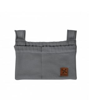 Knitted Antrazit - Dekoration Beutel