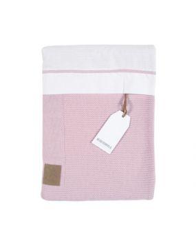 Knitted Rosa - Bettwäsche für Wiege