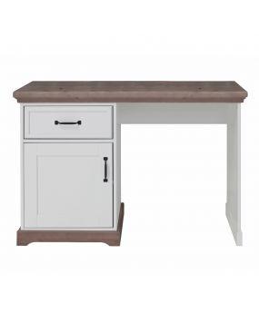 Savona Weiß / Grau ohne Kreuz - Schreibtisch