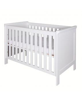 Savona Weiß ohne Kreuz - Bett 60x120