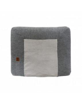 Knitted Antrazit - Wickelauflagenbezug 80x65